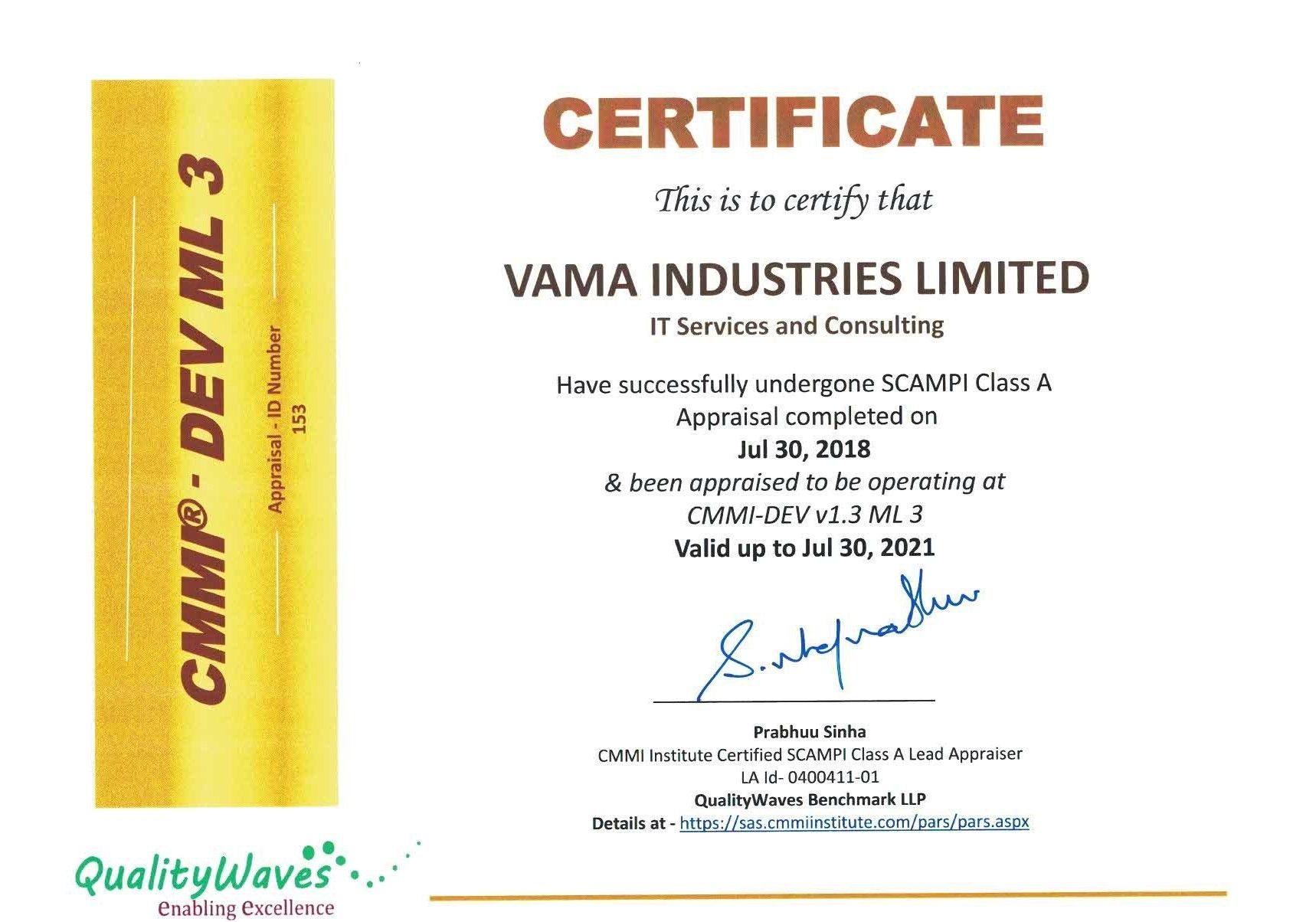 VAMA Industries